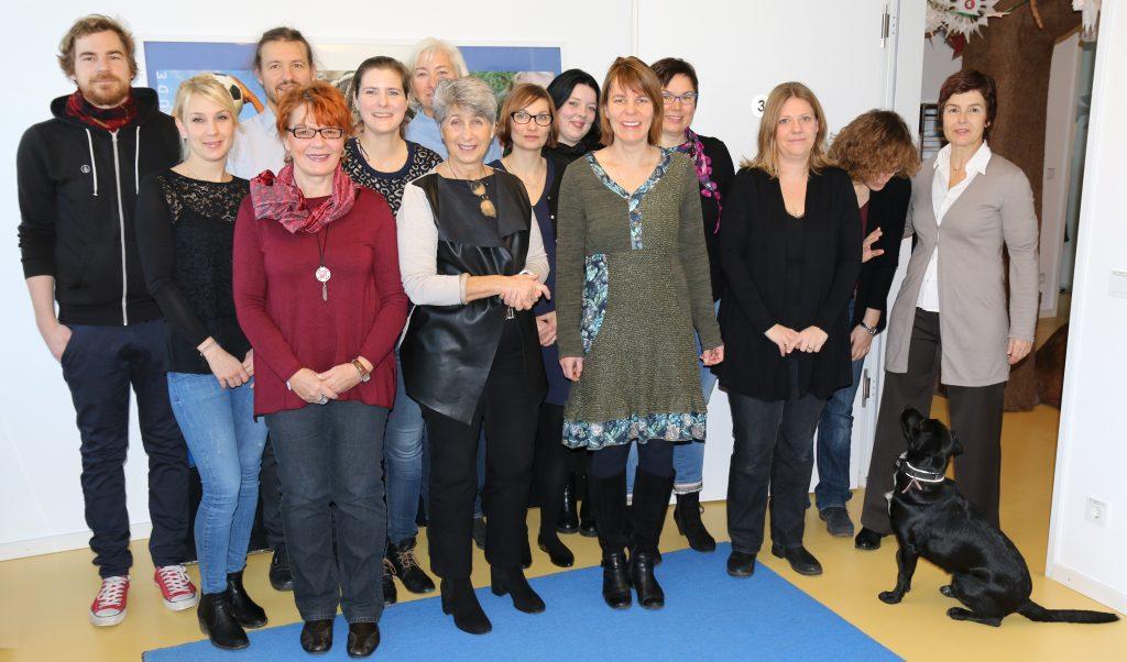 Team der Praxis für Kinder- und Jugendpsychiatrie Dr. Gudrun Rogler in München